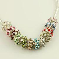 Wholesale Nice Rhine stone european charms chamilia beads wholesal troll charms biagi charms Paz001 cheap china fashion jewelry