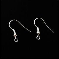 Wholesale Hot Selling X Silver Plated Earring Fish Hooks DIY jewelry accessories ear hook earrings Accessorie for Women Earrings