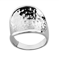 Wholesale Retail lowest price Christmas gift new silver fashion Ring R65