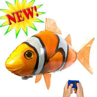 Wholesale Air Swimmers Flying Shark InflatableToy Helium New Animal Planet Blimp RC NIB sample