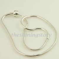 001 chamilia biagi bijoux collier colliers européens intègrent grandes perles de trou 925 en argent sterling remplis Pank001 bijoux de haute couture