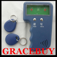 Wholesale RFID ID Card Copy T5567 Copier Reader Writer Portable Handheld ID duplicator Induction Machine