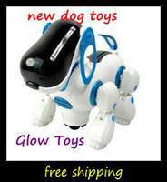 Wholesale NEW Children s Gifts LED Toy machine dog electric toy dog electronic music intelligent electric toys