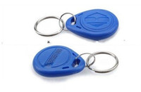 Wholesale 30pcs RFID Proximity ID Token Tag Key Ring Khz Blue e_shop2008