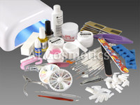 Wholesale Nail Art Professional Watt UV Lamp V V Manicure UV Gel Tool Kit