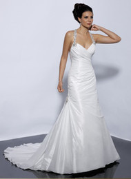 Wholesale In Stock Wedding Dresses ST05 No custom made White and Ivory Color US size
