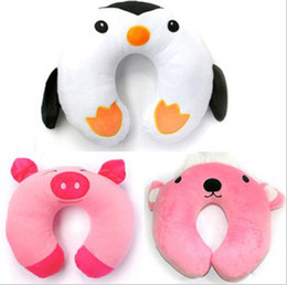 Wholesale Cute Cartoon Travelocity Travel Pillow U shape Pillow Travel Neck Rest Pillow Plane pillow