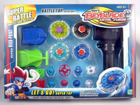 Wholesale Hot selling Beyblade Super Battle Alloy Top Toy as Gifts beyblede Metal fusion battle toy