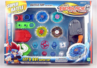 Wholesale 48pcs beyblede Metal fusion battle Beyblade Super Battle Alloy Top Toy as Gifts