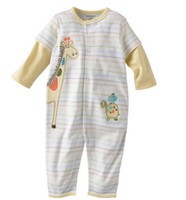 3-6 Months Large Yellow First moments baby rompers onesies bodysuits jumper boys shirts pajamas tops outfits jumpsuits ZW580