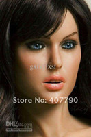 Half Solid Japanese  Wholesale free shipping Men's Sexy Silicone Love doll Sex dolls, inflatable half silicone sex doll