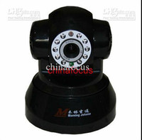 Wholesale CCTV camera Wifi Internet IP Camera PTZ Dual Audio cmos G phone Vandal proof ir LEDs chinafocus