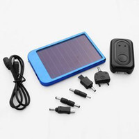 Wholesale Solar Charger for mobile Phones digital camera IPAQ mp3 mp4 full mah universal portable solar c