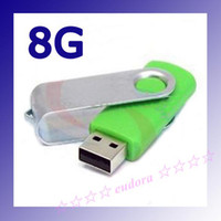 Wholesale 30pcs Real gb swivel Usb flash drive full speed Customize Logo and Colours from eudora shop