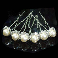 Wholesale Fashion Jewellery WEDDING BRIDAL SWAROVSKI CTYSTAL PEARL HAIR PINS