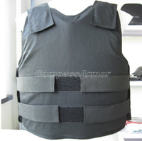 Wholesale Medium Size Covert bulletproof Vest wearing inside protection level NIJ IIIA