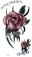 Wholesale Waterproof Temporary Tattoo Stickers Rose style Lion Eagle mixed order