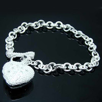 Wholesale Retail lowest price Christmas gift new silver fashion Bracelet B29
