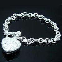 Wholesale Retail lowest price Christmas gift new silver fashion Bracelet B29