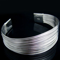 Wholesale Retail lowest price Christmas gift new silver fashion Bracelet B52