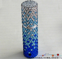 Wholesale High Quality Glass Scent Bottle Perfume Spray Bottles Handwork Crystal Empty Bottle ml
