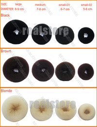 Wholesale 10 Brand New HAIR BUN RING DONUT SHAPER HAIR STYLER