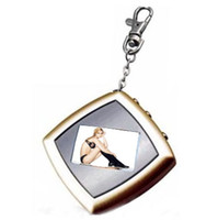 Wholesale Christmas Gift quot CSTN LCD Color Screen Digital Photo Frame Key Chain Via China Post Air