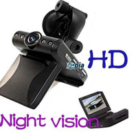 Wholesale 2 quot IR Car Vehicle DVR Camera Video Recorder LED Night Vision p Degree Cam e_shop2008