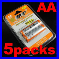 Wholesale 5Packs MP AA Rechargable Batteries V mAh Digital Camera NimH Recharge Battery