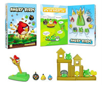 Wholesale Anger bird kids educational toys Desktop board game Shooting practice