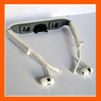 Wholesale Virtual inch screen Resolution Widescreen Video glasses for ipod iphone s ipad EMS