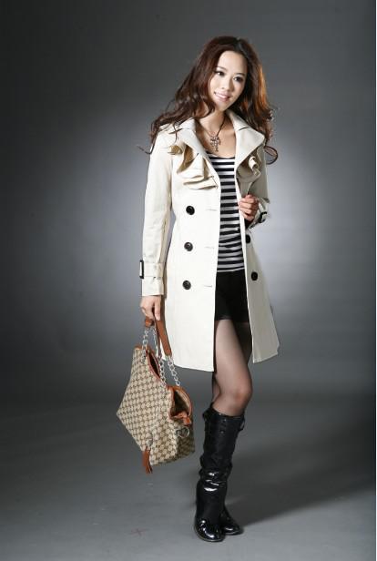 New Women's Trench Coats For Spring Autumn Womens Coat Overcoat Ladies Long Coat Lady's Windbrea From Gracegirl888, $47.38 | Dhgate.Com