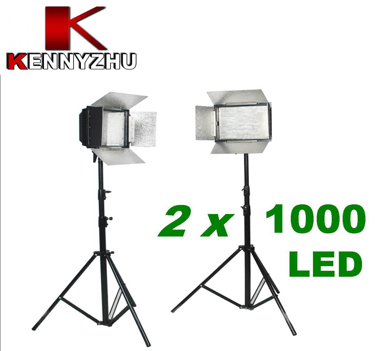 Wholesale Photo Light - Buy Pro Studio Lighting Kit 1000 LED Video ...