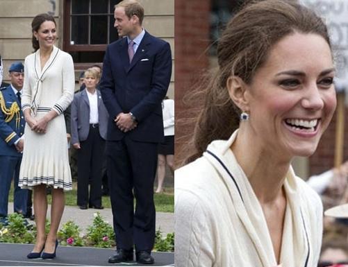 Kate Middleton Wedding Gift List : Gift Fashion Earrings Kate Middleton Royal Wedding Earring Gift ...
