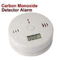 Wholesale CO Carbon Monoxide Poisoning Gas Sensor Alarm Detector Wireless Safety Warner Alert Alerter