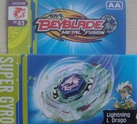 Wholesale 120PCS models Beyblade Metal Fusion Super Gyro AA Spinning Tops Toy as Gifts Baby beyblade