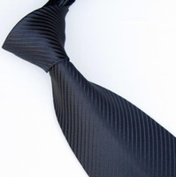 Wholesale men ties solid color ties neckties navy tie shirt tie neck tie colors business ties Woven ties