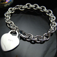 Wholesale Retail lowest price Christmas gift new silver fashion Bracelet B78