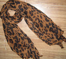 Women's Leopard print scarf Scarves shawl Neck scarf Fashion Scarf 20pcs lot #1574 CHINA_DIRECT