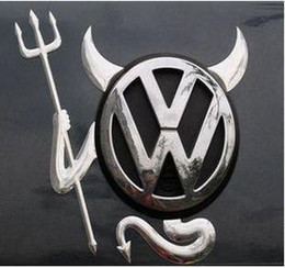 Car Stickers for car Car decal Little Devil stickers PVC car 3D stereo bumper stickers