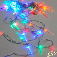Wholesale 8M LED Bulb Fiber optic Multicolor String Light Christmas Holiday Wedding Party Garden Decoration