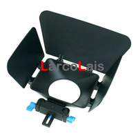 Wholesale Matte Box for mm rod support follow focus D90 D MKII D D D Camera Camcorder DSLR Rig Kit
