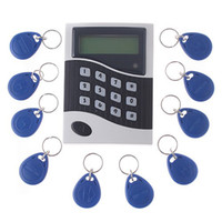 access controler - RFID access controler Networking LCD Display Entry Door Access Control System support user H439