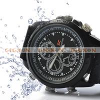 Wholesale Voyeur Sports Spy Camera Watch GB Memory