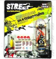 Wholesale Finger Skateboard finger stakeboards finger toys mini fingerskateboard mix styles
