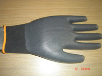 Wholesale Black Nylon Nitrile Foam Coated Working Glove Gloves e_shop2008