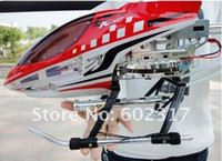 Wholesale Sky King Metal gyro ch remote control helicopter ready to fly rtf w LED light RC toy HCW