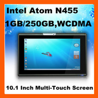 Wholesale 3G Optional H980 Inch Windows Intel Atom N455 GB GB Multi Touch Tablet Netbook PC