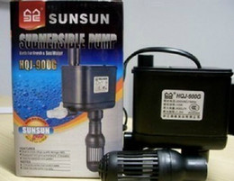 Wholesale SUNSUN HQJ G W L H Aquarium Fish Tank Multi Function Submersible Pump Oxygen Water Filtration Pump AC220 V New
