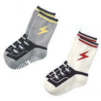 baby infant anklet - lightning Baby Socks skidproof Kids sock COLORS infant short socks anklet short sock TZ04